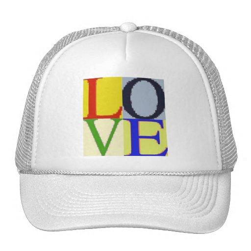 POP CULTURE LOVE MESH HAT