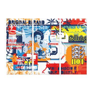 Pop Culture Movement Canvas Print