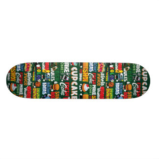 Pop culture side A Custom Skateboard