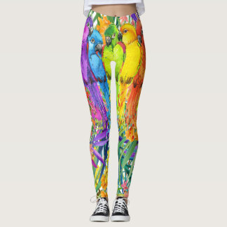 Pop Fashion Birds of a Feather Leggings