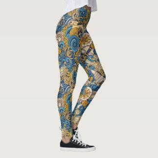 Pop Fashion Nautical Art Leggings