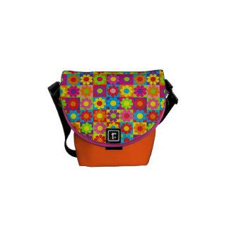 Pop Flower Power Commuter Bag