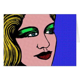 Pop Girl Card