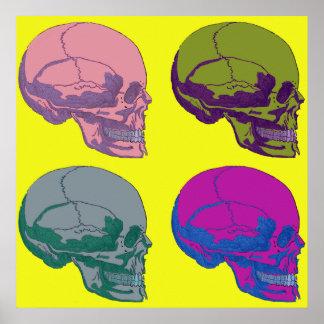 Pop Go The Skulls Print