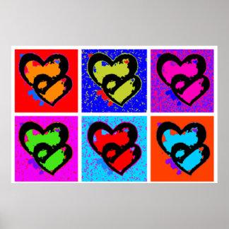 POP HEARTS Poster