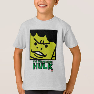 Pop Hulk Block with Logo T-Shirt