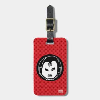 Pop Iron Man Icon Luggage Tag