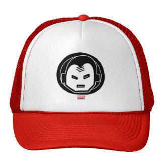 Pop Iron Man Icon Trucker Hat