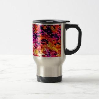 Pop Leaves Travel Mug