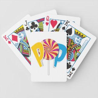 Pop lollypop poker deck