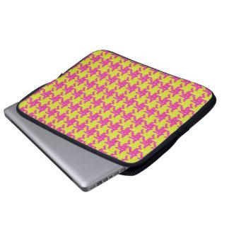 Pop Pied de Poule Laptop Bag