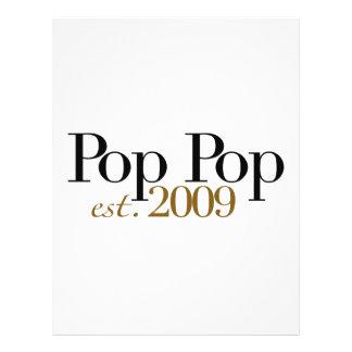 Pop Pop Est. 2009 Flyers