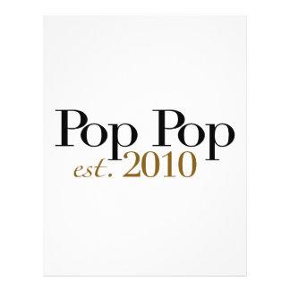 Pop Pop Est 2010 Full Colour Flyer