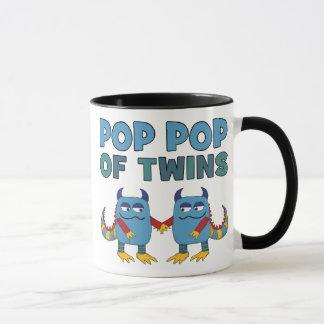 Pop Pop of Twins Mug