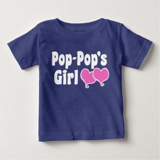 Pop Pop's Girl Baby T-Shirt