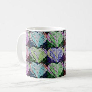 Pop Puffin Hearts Coffee Mug