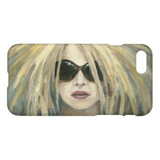 Pop Punk Grrrl Modern Painting Female Portrait iPhone 7 Case