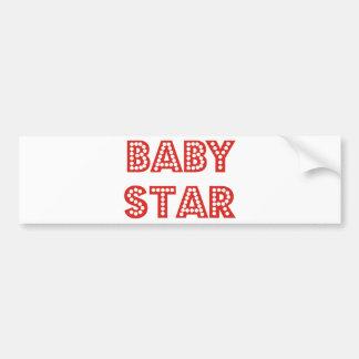 Pop, Rock & Baby Star Products & Designs! Bumper Sticker