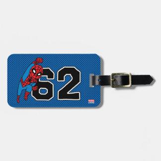 Pop Spider-Man 62 Bag Tags