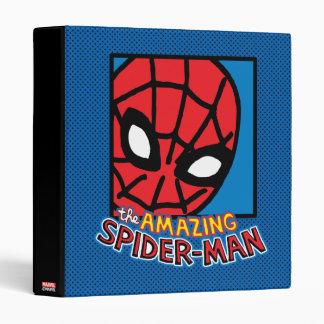 Pop Spider-Man Block with Logo 3 Ring Binder