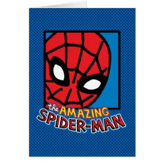 Pop Spider-Man Block with Logo Card