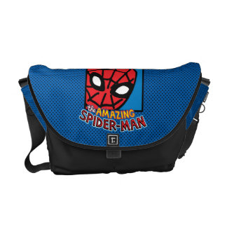 Pop Spider-Man Block with Logo Commuter Bags