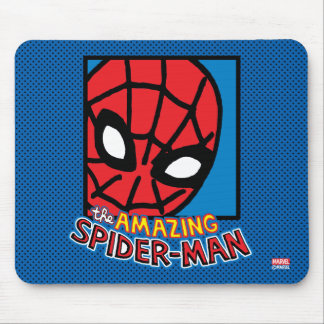 Pop Spider-Man Block with Logo Mouse Pad