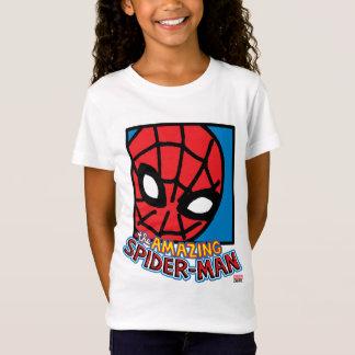 Pop Spider-Man Block with Logo T-Shirt