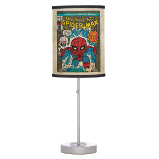 Pop Spider-Man Comic Cover #151 Table Lamp