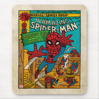 Pop Spider-Man Comic Cover #186 Mouse Pad