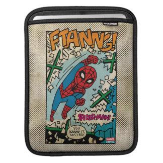 Pop Spider-Man Comic Strip iPad Sleeves