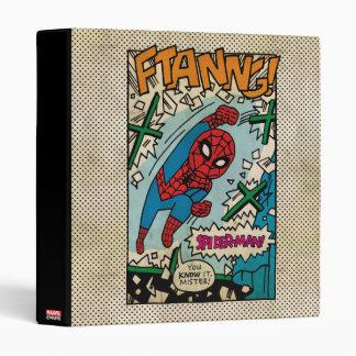 Pop Spider-Man Comic Strip Vinyl Binder