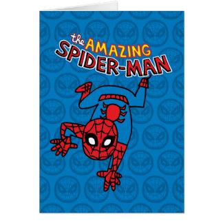 Pop Spider-Man with Logo Card