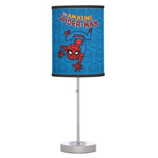 Pop Spider-Man with Logo Desk Lamp
