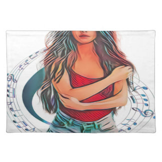 Pop Star Beauty Placemat