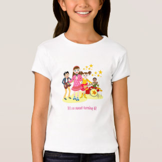 Pop star Birthday Girl T-Shirt