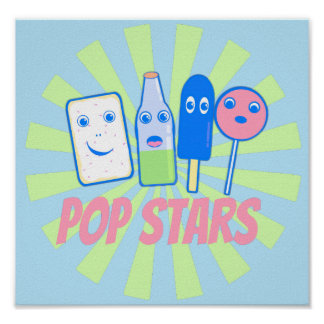 Pop Stars Poster