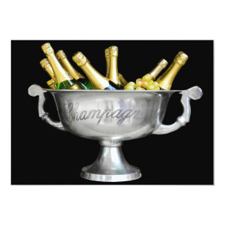 Pop the cork! Help us celebrate! Card