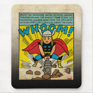 Pop Thor Comic Strip Mouse Pad