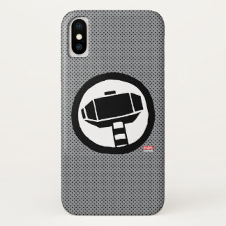 Pop Thor Hammer Icon iPhone X Case