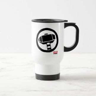 Pop Thor Hammer Icon Travel Mug