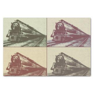 Pop Train Tissue Paper