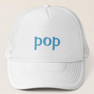 pop trucker hat