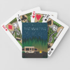 Pop Up Camping Under The Stars- Martin Bicycle Playing Cards