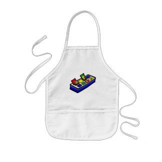 pop up toy kids' apron