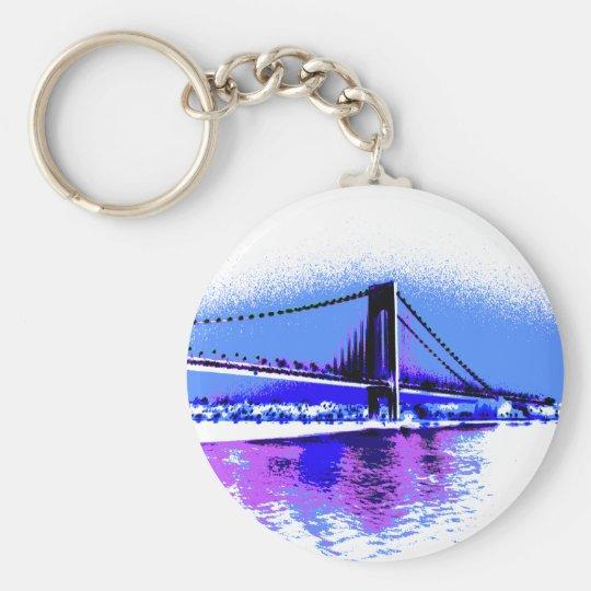 PopArt Bridge keychain