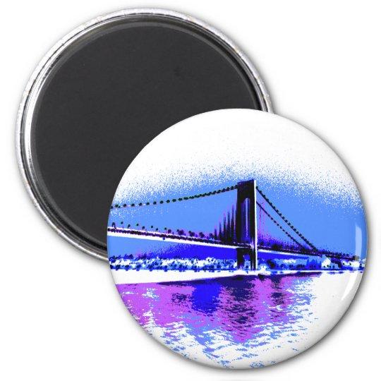 PopArt Bridge magnet