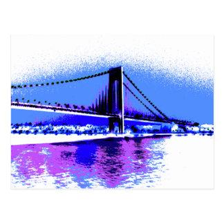 PopArt Bridge postcard