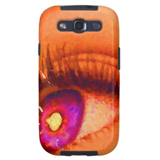 PopArt Eye Lightning To The Limit Energy Power Galaxy S3 Covers
