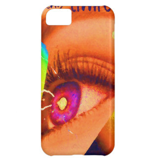 PopArt Eye Lightning To The Limit Energy Power Case For iPhone 5C